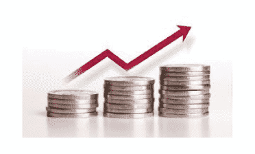 Image depicting increase in funds